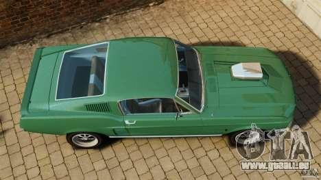 Ford Mustang 1967 für GTA 4 rechte Ansicht