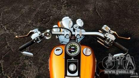 Harley Davidson Fat Boy Lo Vintage für GTA 4 Rückansicht