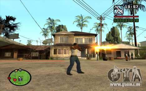 AKM pour GTA San Andreas troisième écran