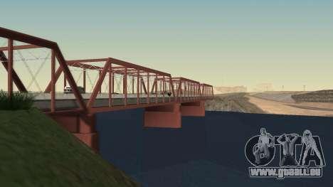 Die neue Brücke von LS-LV für GTA San Andreas