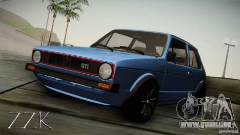 Volkswagen Golf MK1 pour GTA San Andreas