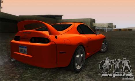 Toyota Supra Tunable für GTA San Andreas linke Ansicht