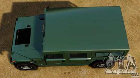 Hummer H1 Alpha für GTA 4 rechte Ansicht