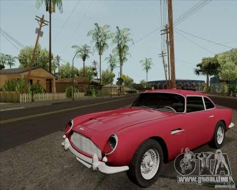 Aston Martin DB5 pour GTA San Andreas laissé vue