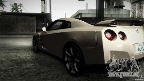 Nissan GT-R35 v1 pour GTA San Andreas laissé vue