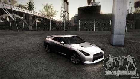 Nissan GT-R35 v1 für GTA San Andreas