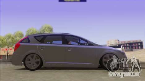 Kia Ceed SW pour GTA San Andreas vue de droite