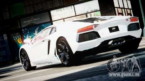 Lamborghini Aventador LP700-4 Twin Turbo UGR pour GTA 4 est une gauche