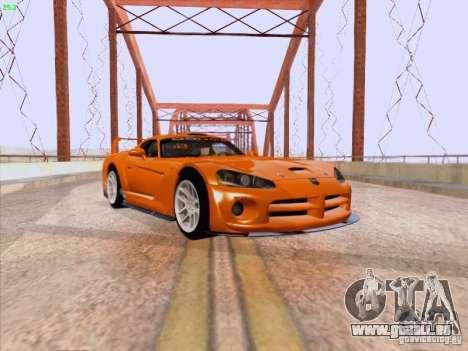 Dodge Viper GTS-R Concept pour GTA San Andreas laissé vue