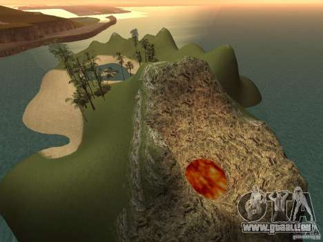 Volcano für GTA San Andreas dritten Screenshot