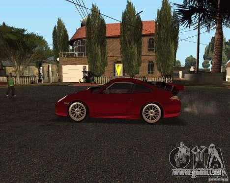 Porsche 911 GT3 RS pour GTA San Andreas vue de dessous
