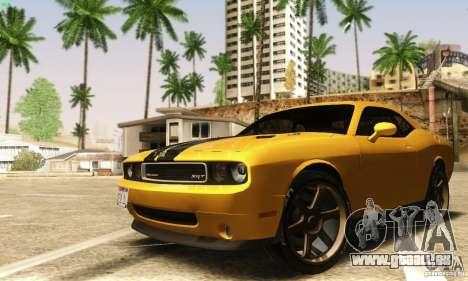 Dodge Challenger SRT-8 für GTA San Andreas Innenansicht