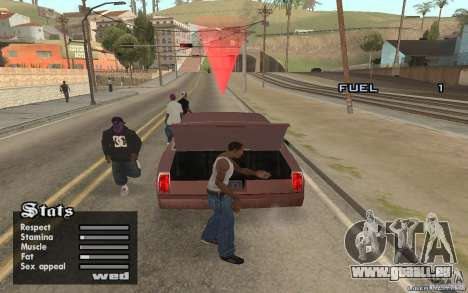 Trunk Hide für GTA San Andreas