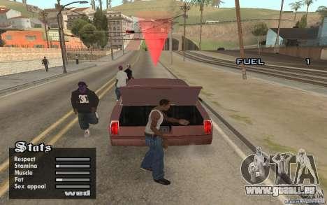 Trunk Hide pour GTA San Andreas