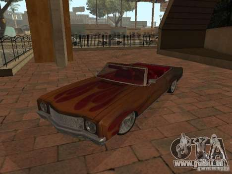 1970 Chevrolet Monte Carlo pour GTA San Andreas vue de droite