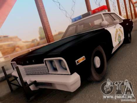 Dodge Monaco 1974 California Highway Patrol für GTA San Andreas
