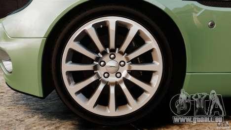Aston Martin Vanquish 2001 für GTA 4 Seitenansicht