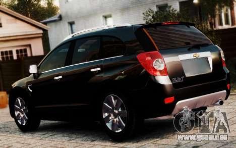 Chevrolet Captiva 2010 pour GTA 4 est une gauche