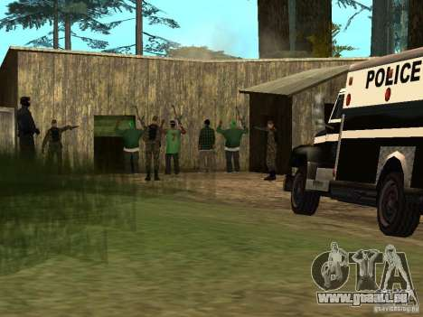 Drug Assurance pour GTA San Andreas troisième écran