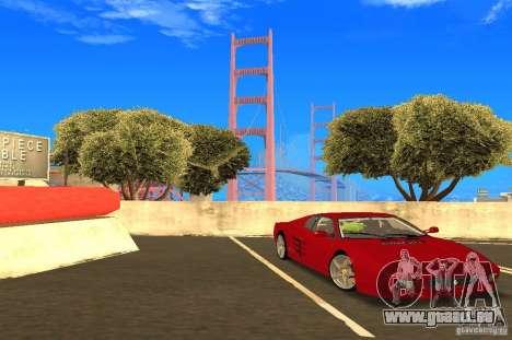 Ferrari 512TR pour GTA San Andreas vue de droite