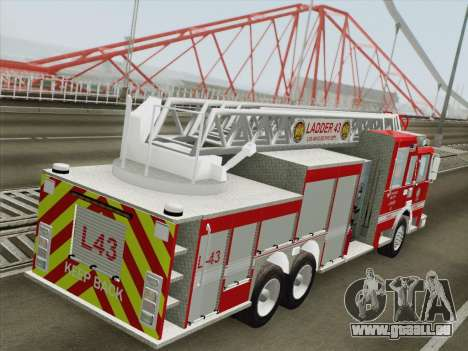 Pierce Arrow LAFD Ladder 43 für GTA San Andreas Räder