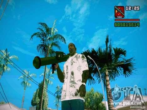 New Weapon Pack für GTA San Andreas siebten Screenshot