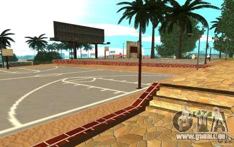 Neue Texturen-Basketballplatz für GTA San Andreas zweiten Screenshot