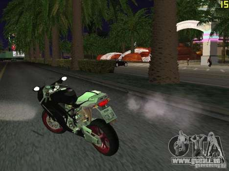 Ducati 999R für GTA San Andreas zurück linke Ansicht