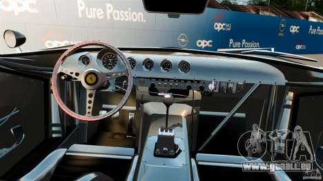 Ferrari 250 1964 pour GTA 4 Vue arrière