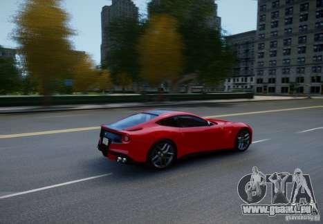 Ferrari F12 Berlinetta 2013 für GTA 4 Rückansicht