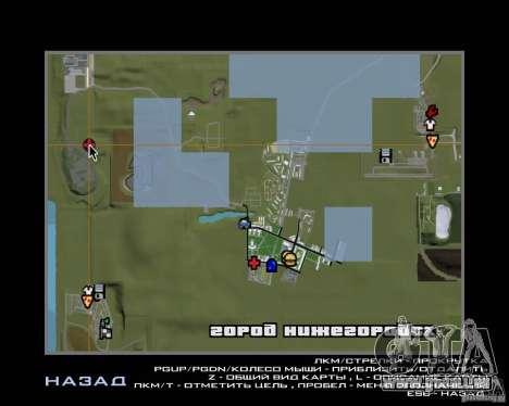 Nižegorodsk v0. 1 BETA für GTA San Andreas fünften Screenshot