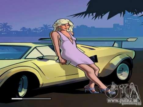 Écran de démarrage de Vice City pour GTA San Andreas quatrième écran