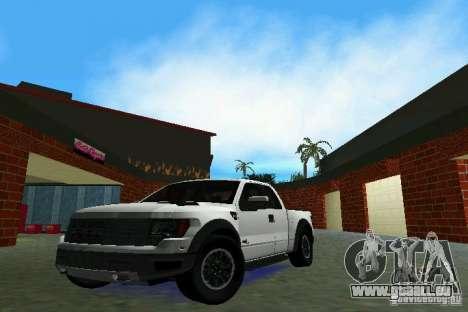 Ford F-150 SVT Raptor für GTA Vice City
