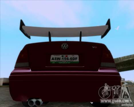 Volkswagen Jetta 2005 pour GTA San Andreas vue de droite
