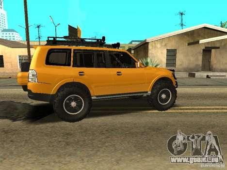 Mitsubishi Pajero OffRoad v2 für GTA San Andreas rechten Ansicht