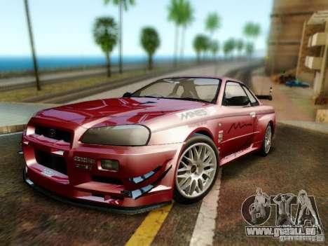 Nissan R34 Skyline GT-R für GTA San Andreas