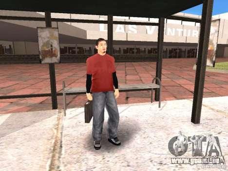 Erneuerung des Flughafens in Las Venturase für GTA San Andreas achten Screenshot