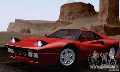 Ferrari 288 GTO 1984 für GTA San Andreas rechten Ansicht