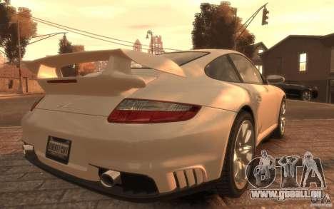 Porsche 911 GT2 2008 pour GTA 4 est une gauche