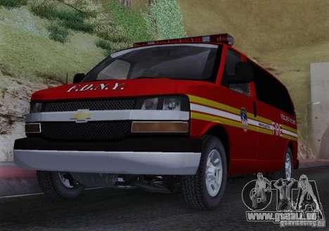 Chevrolet Express Special Operations Command für GTA San Andreas