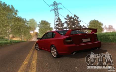 SA Illusion-S V3.0 pour GTA San Andreas troisième écran
