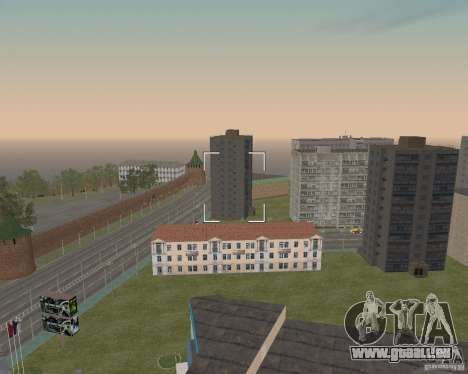 Nižegorodsk v0. 5 BETA für GTA San Andreas