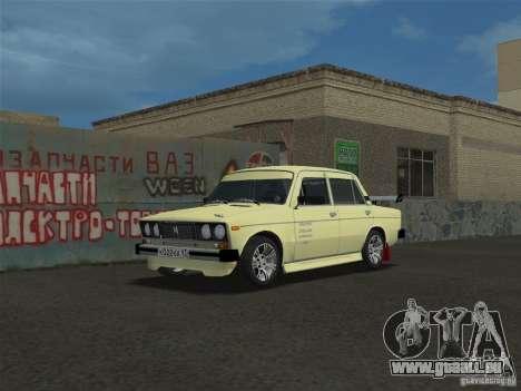 VAZ 2106 Sparco Tuning für GTA Vice City zurück linke Ansicht