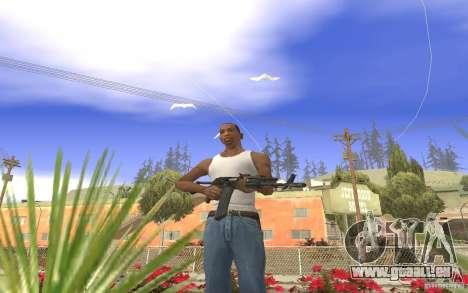 AK 101 für GTA San Andreas her Screenshot
