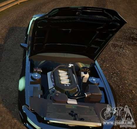 Ford Mustang GT Convertible 2013 für GTA 4 hinten links Ansicht