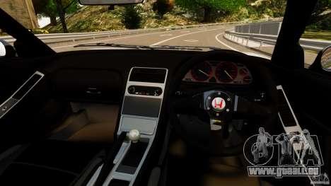 Honda NSX-R GT für GTA 4 Rückansicht