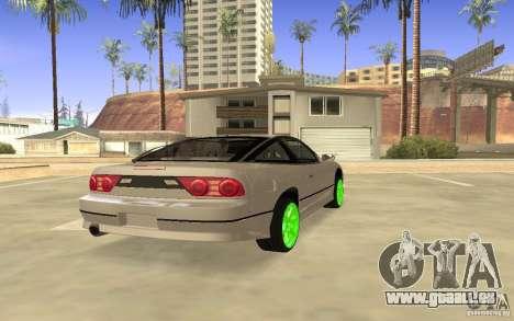 Nissan 200SX Monster Energy pour GTA San Andreas vue de droite