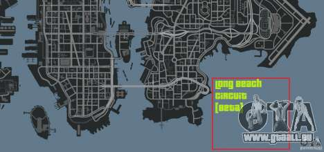 Long Beach Circuit [Beta] pour GTA 4