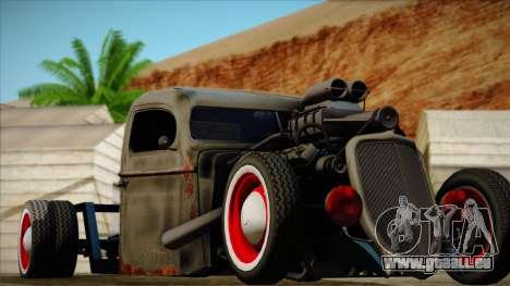 Rat Rod pour GTA San Andreas vue arrière
