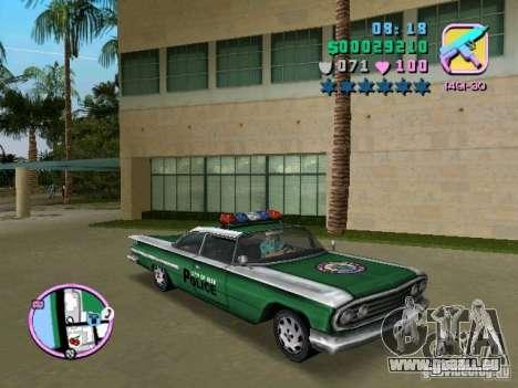 Voodoo Police für GTA Vice City linke Ansicht